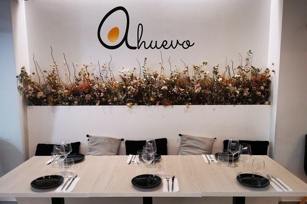 Interior de A Huevo Restaurante