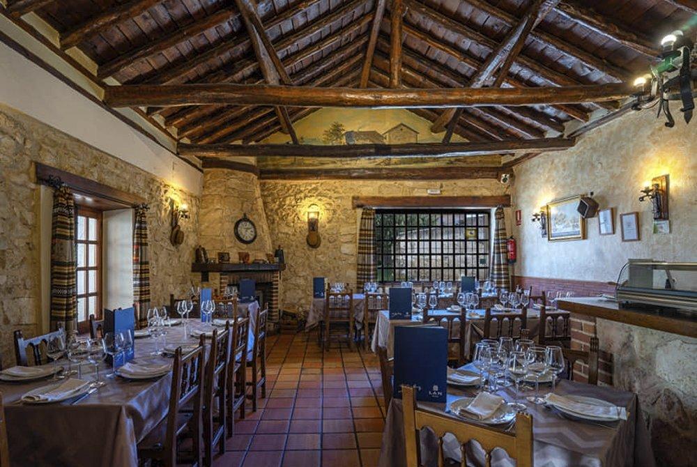 El Molino de Madrona, gastronomía rústica en Segovia