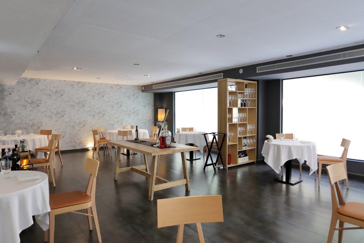 Interior del restaurante Cancook