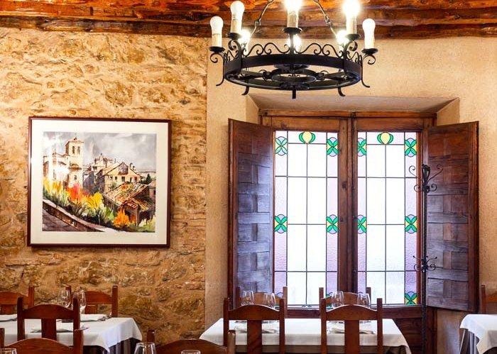 Interior del restaurante El Sitio