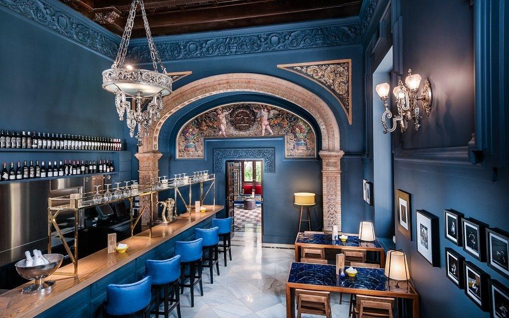 Interior del restaurante ENA by Carles Abellán