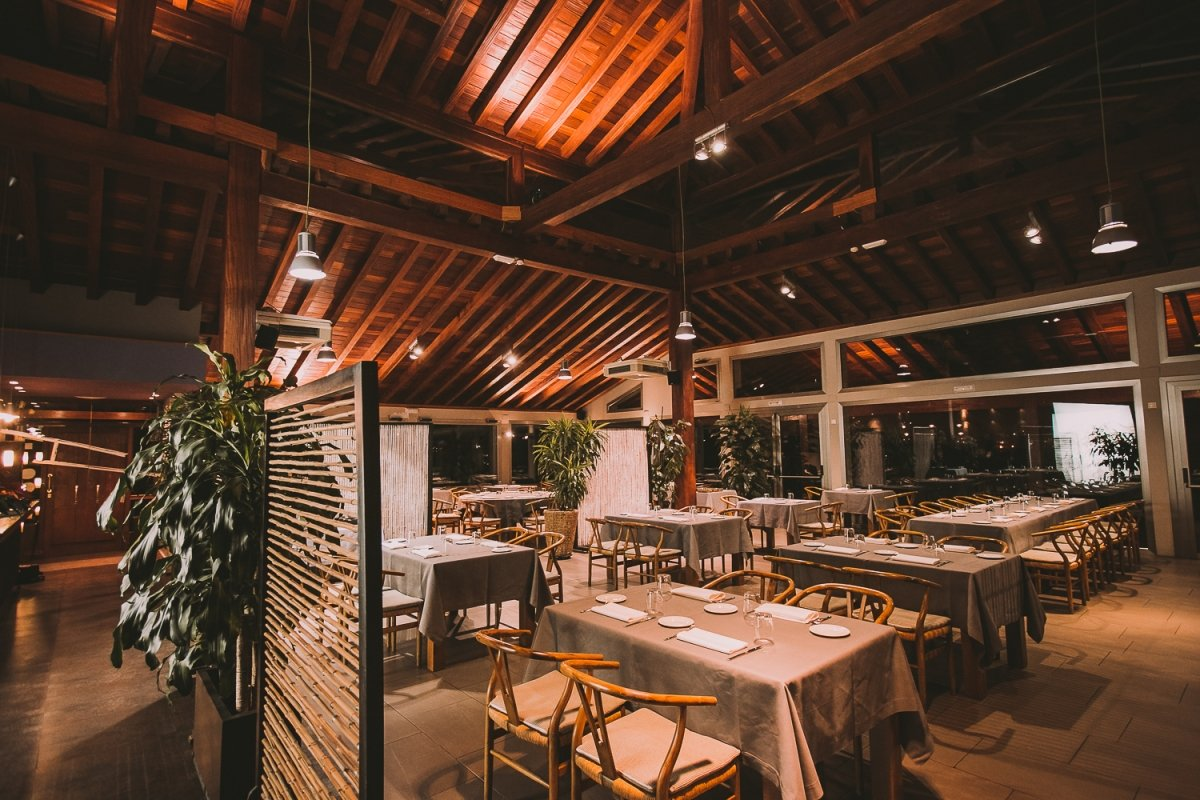Interior del restaurante Laia
