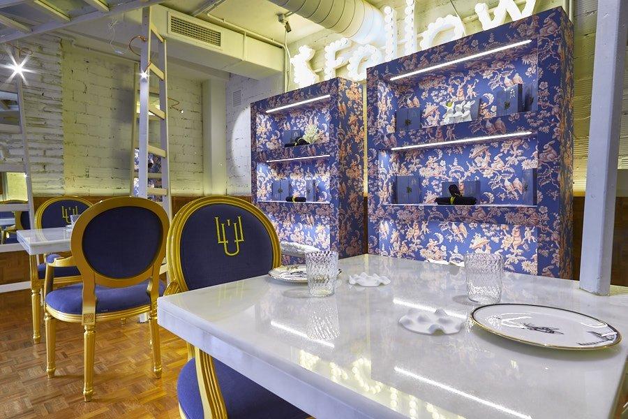 Interior del restaurante LÚ
