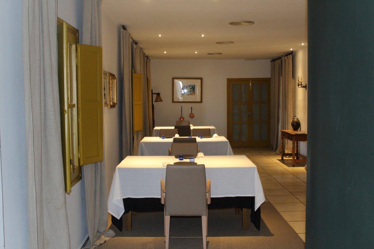 Interior del restaurante Malena