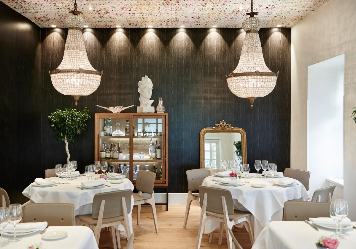 Interior del restaurante Rekondo