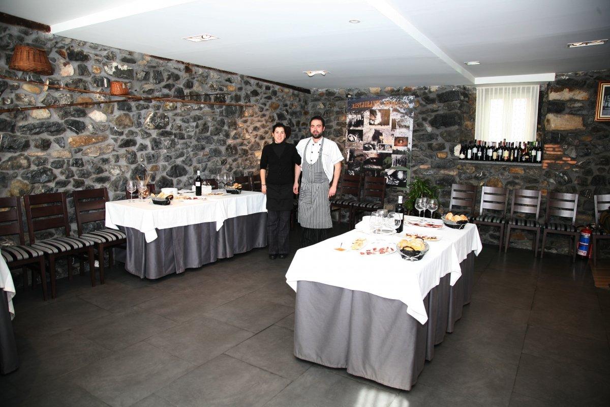Interior del restaurante Ronquillo