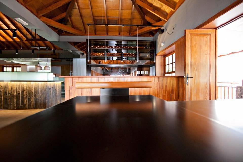 Interior del restaurante Sensu