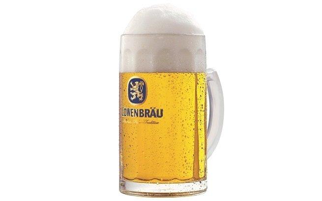 Jarra de cerveza Löwenbräu Oktoberfestbier