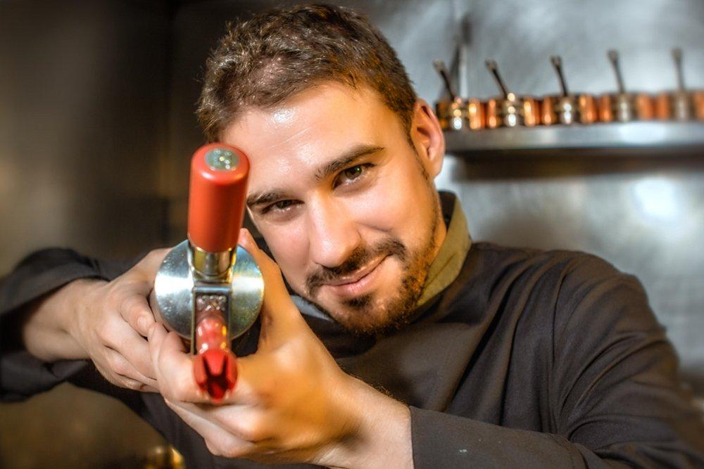 Javier Estévez, un chef con corazón