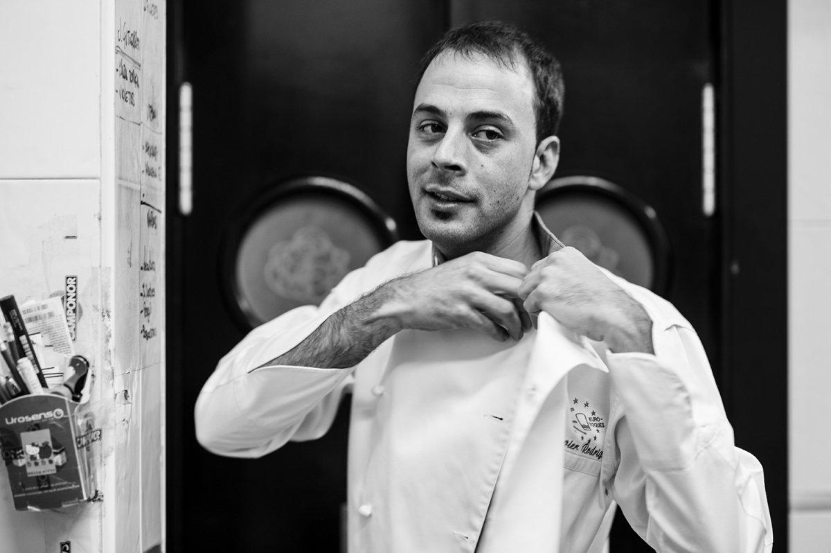 Javier Rodríguez, la osada cocina de las vivencias