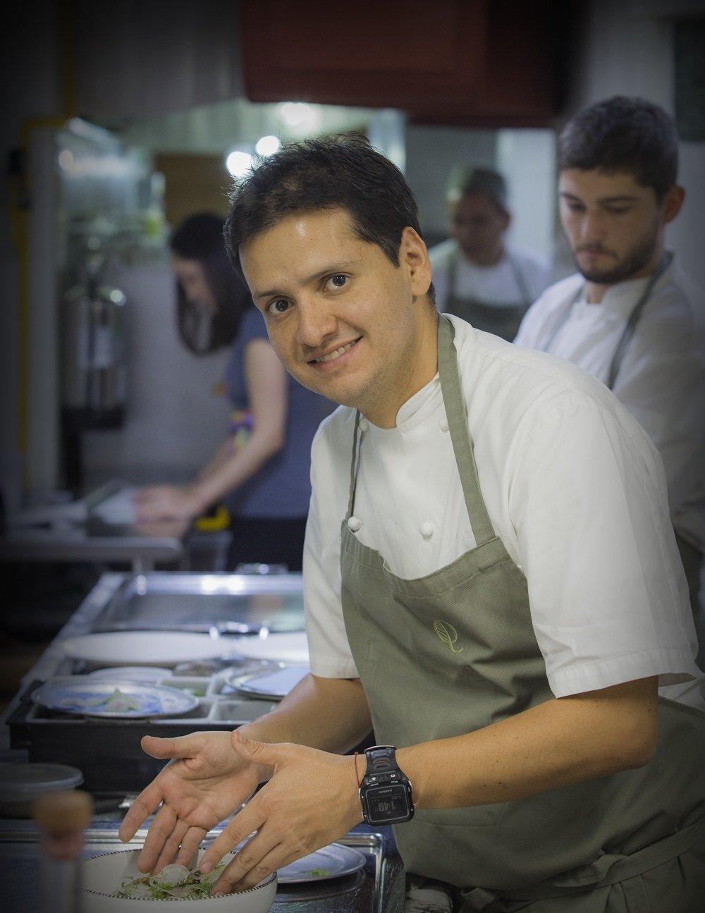 Jorge Vallejo, chef de Quintonil