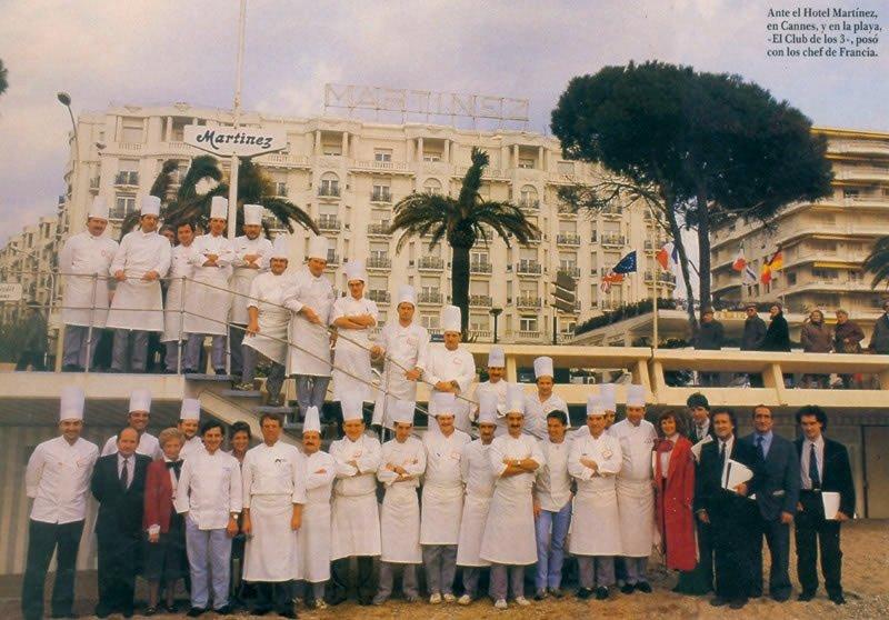 Jornadas Ecofier Maximin, en Cannes, en el año 1987
