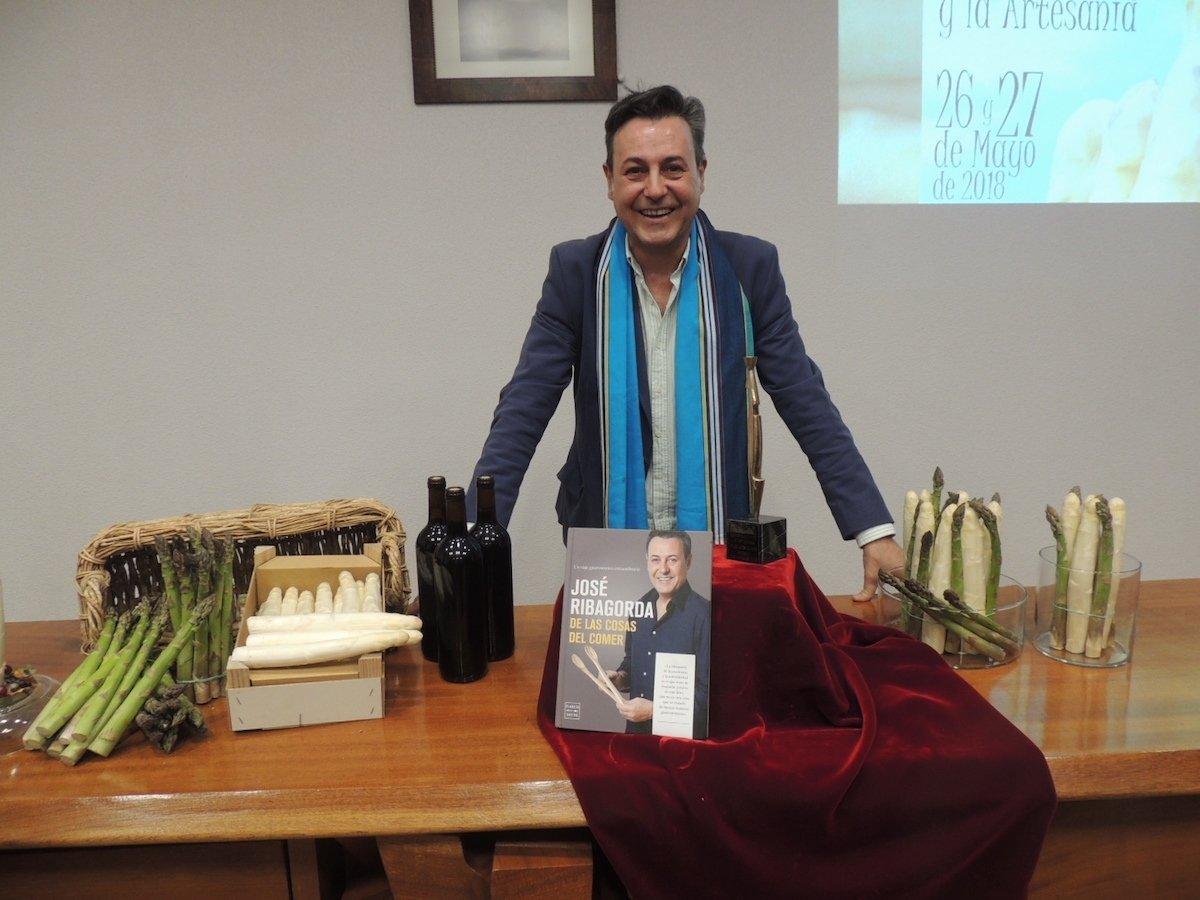 José Ribagorda: su lado más gastronómico