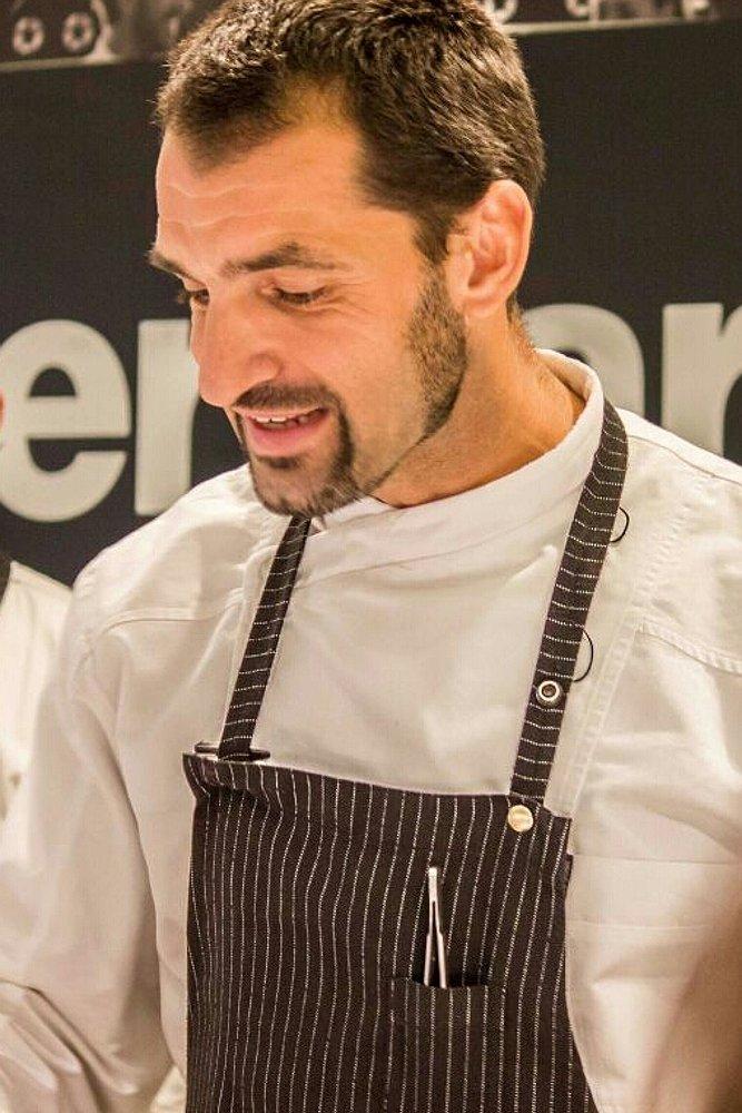 Julio Fernández, jefe de cocina del restaurante Abantal