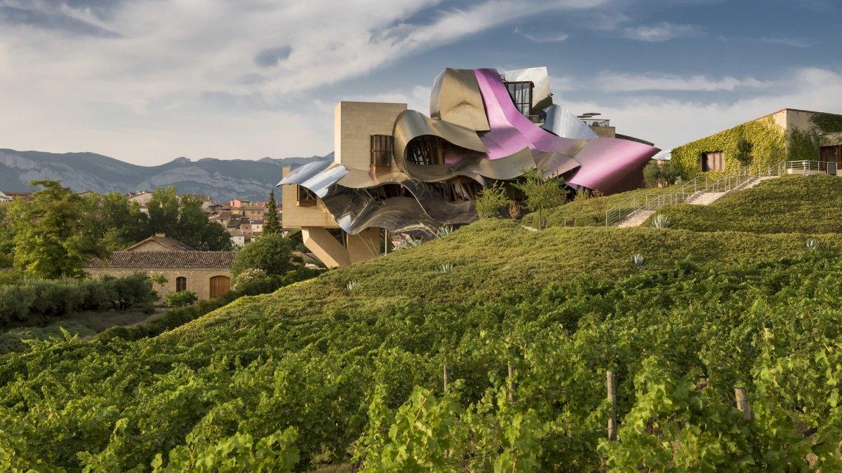 La Ciudad del Vino de Marqués de Riscal