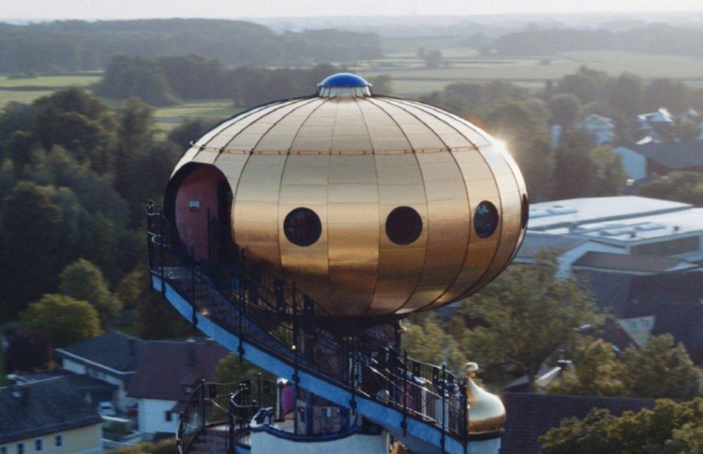 La cúpula en forma de cebolla de la Torre Kuchlbauer