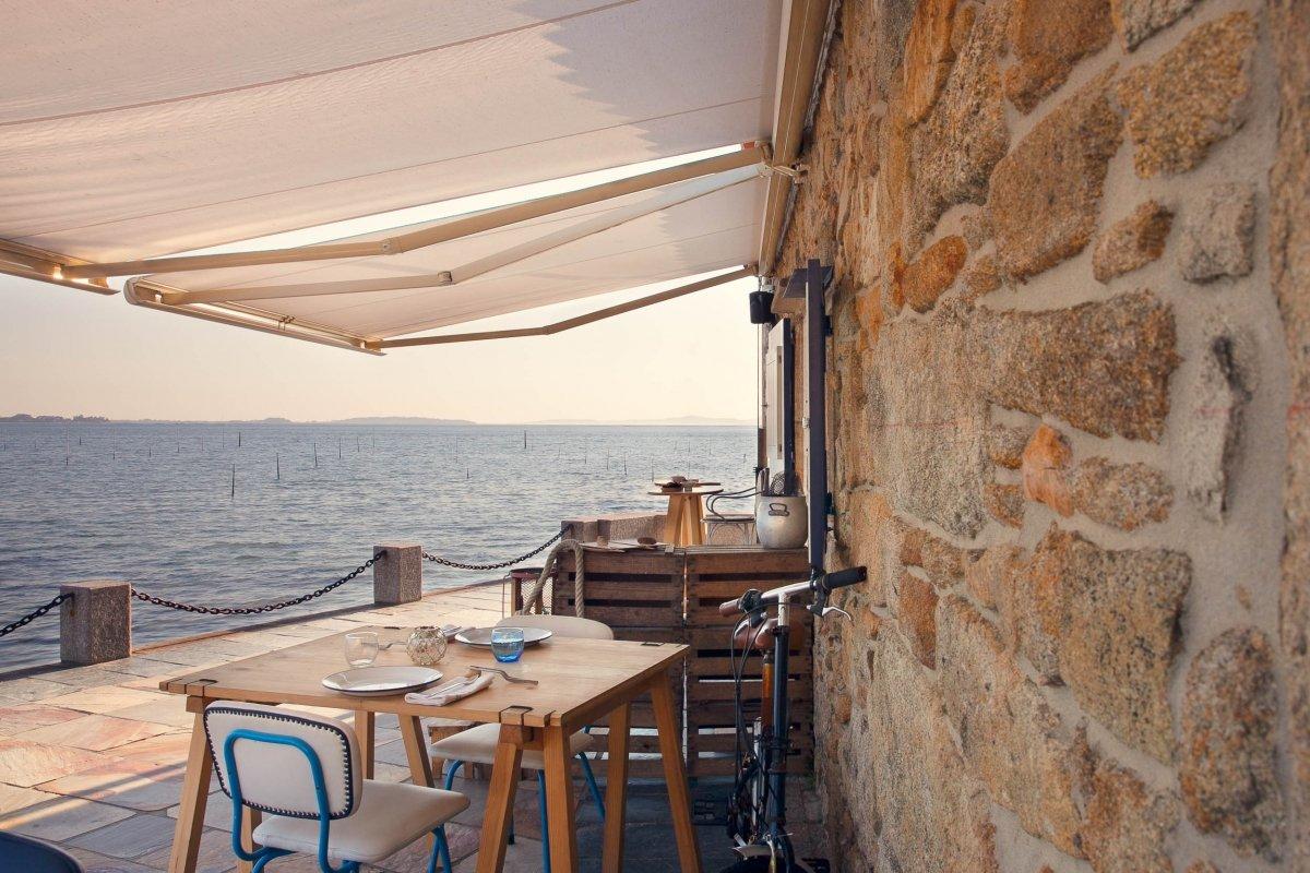 La Explanada del restaurante Loxe Mareiro