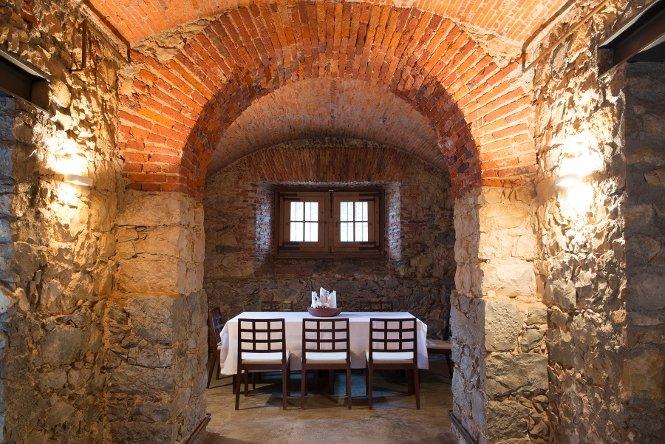 La mesa de El Gastronómico en la Casona del Judío