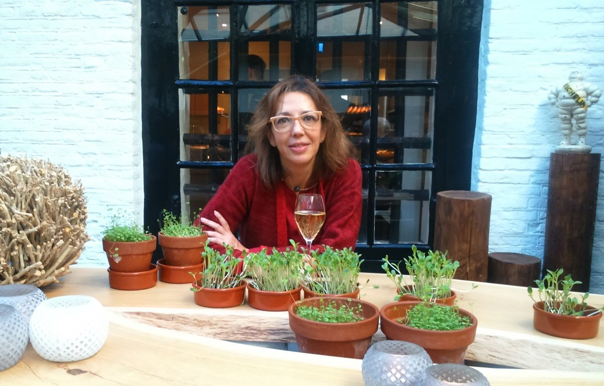 La periodista gastronómica Raquel Castillo