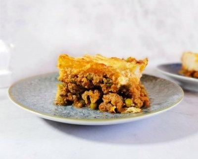 Pastel de cordero y patata (Shepherd's pie)