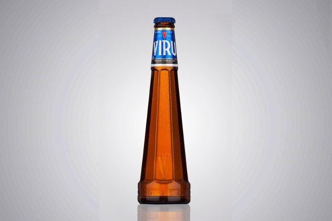 Viru, la cerveza rubia hermosa