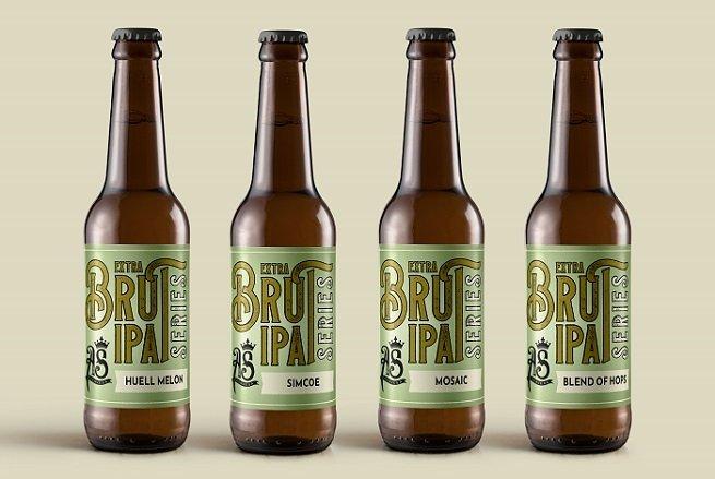 Las cuatro variedades de la Extra Brut Series de As