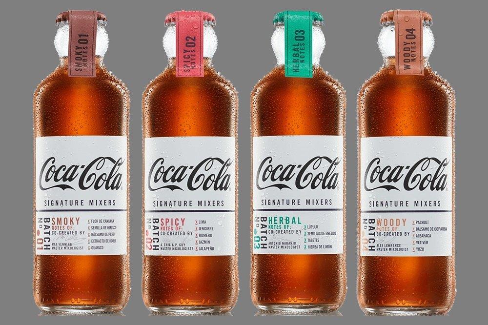Mezclas con Signature Mixers: Coca-Cola reinventa la mixología