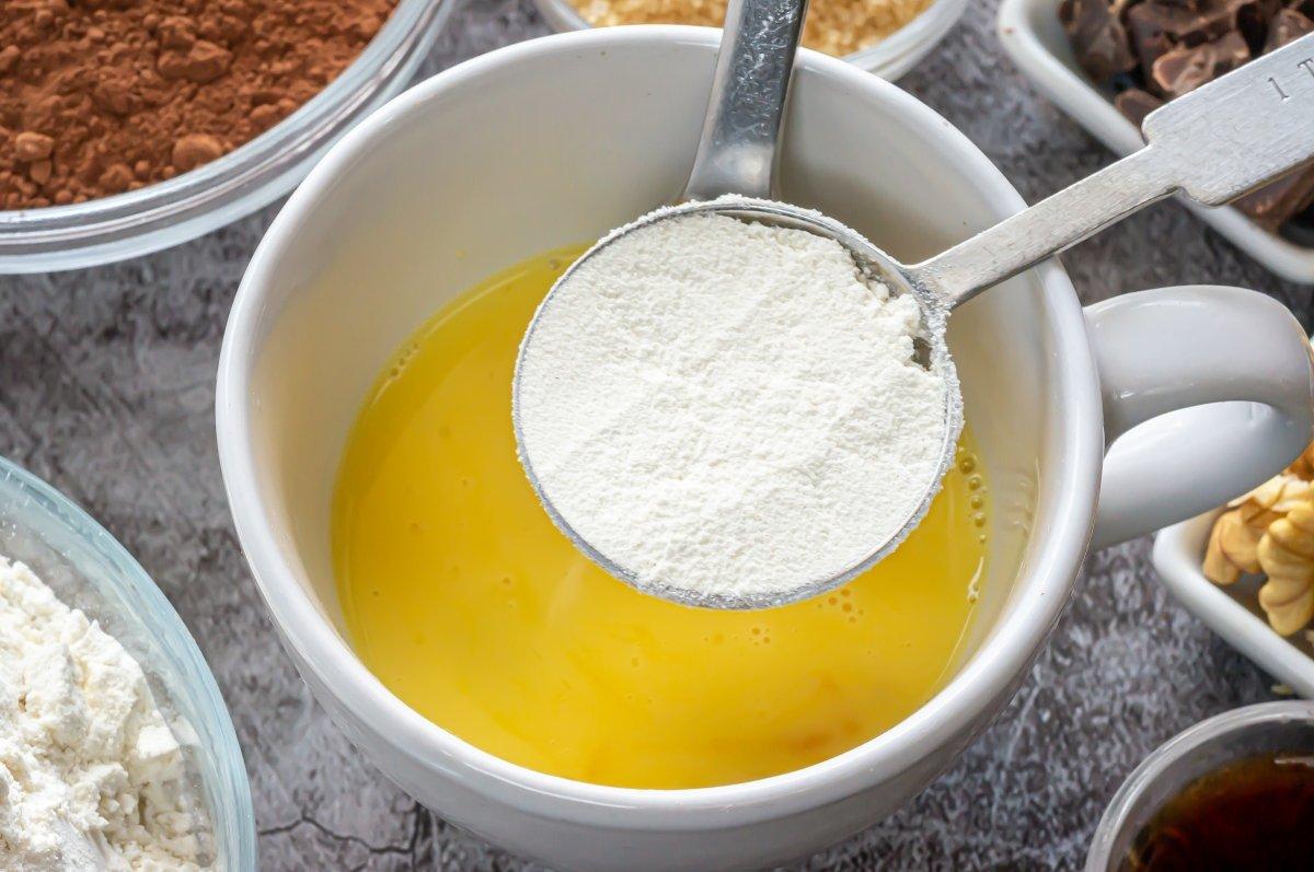 Las cucharadas de harina
