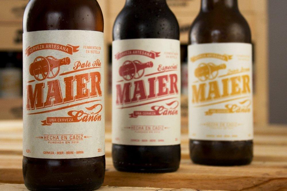 Maier, la cerveza que volvió a Cádiz
