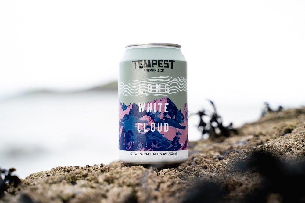Tempest Long White Cloud, cerveza pale ale con aroma a Nueva Zelanda