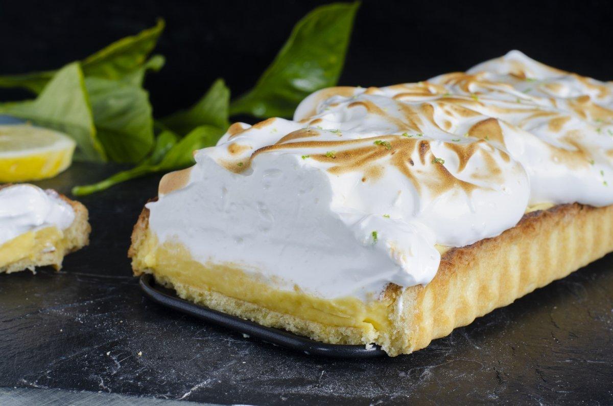 Tarta de limón y merengue (Lemon pie)
