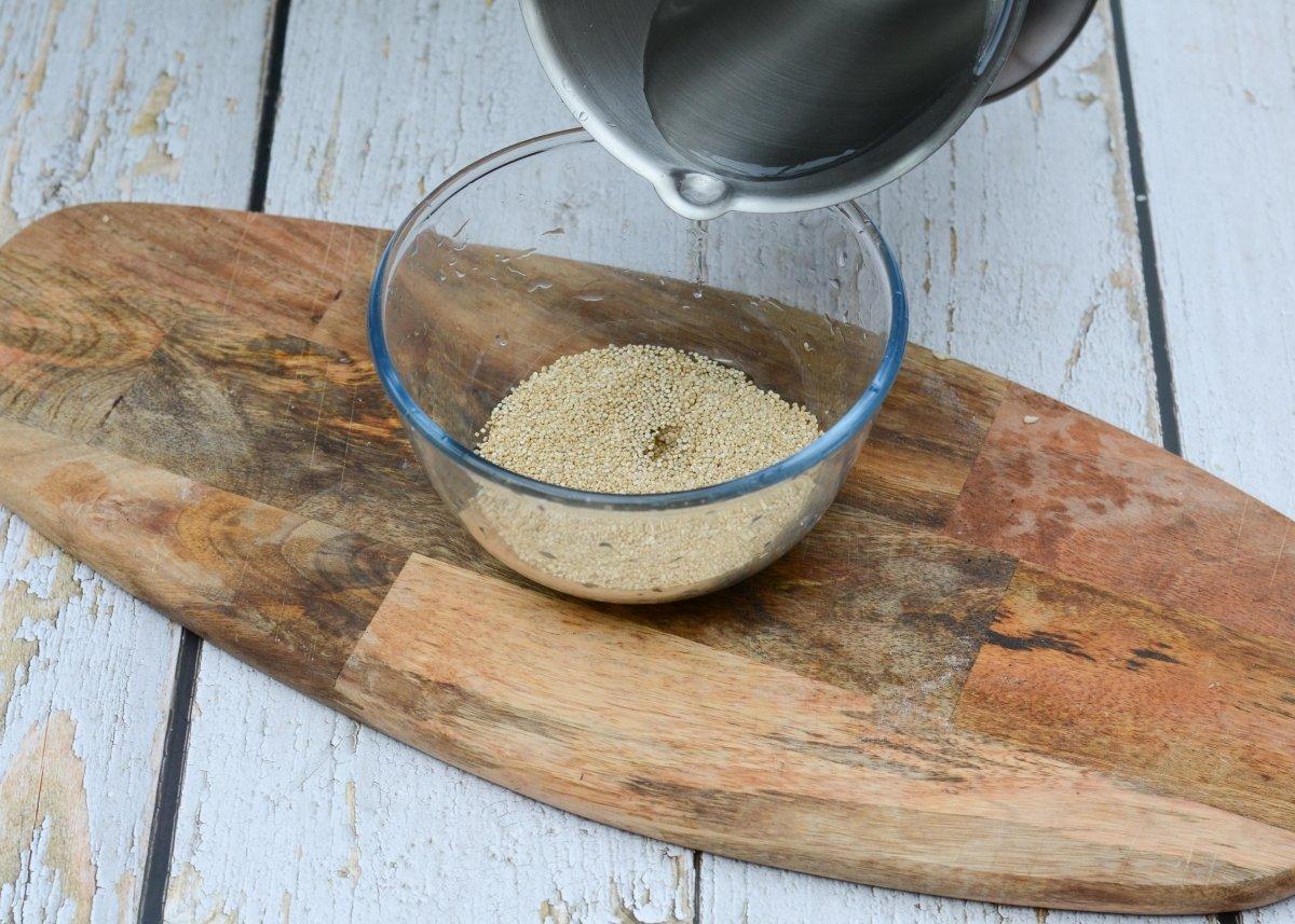 Remojamos la quinoa