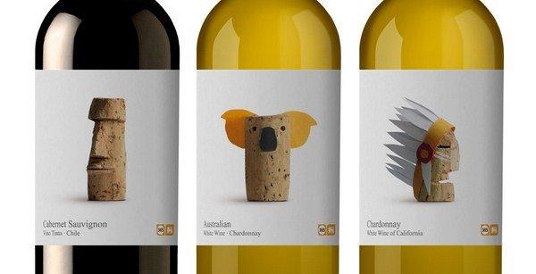 Línea Wines of the world para Delhaize