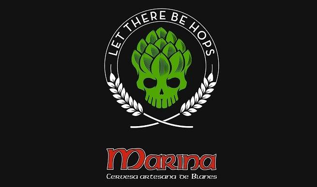 Logotipo de Cervesa Marina