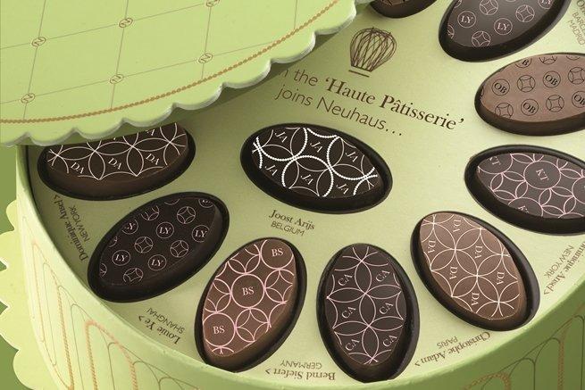 Haute Patisserie de Neuhaus, bombones de grandes chefs pasteleros