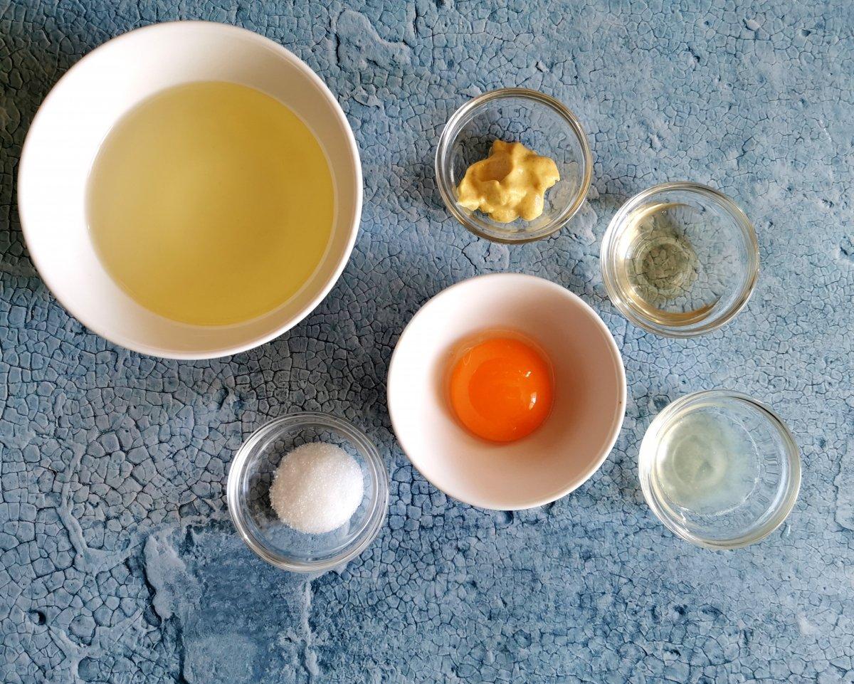 Los ingredientes de la mayonesa japonesa