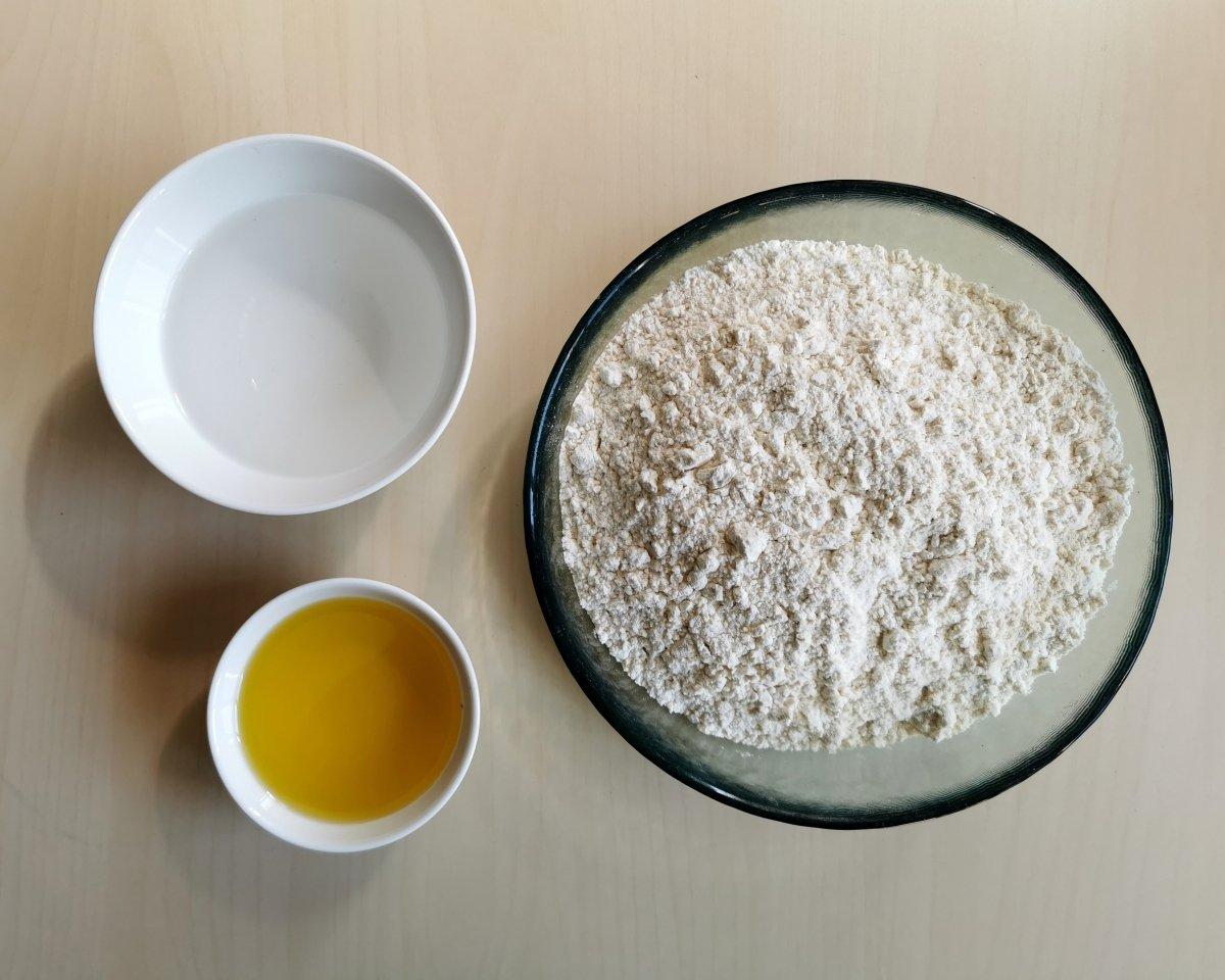 los ingredientes de las tortillas de trigo mexicanas