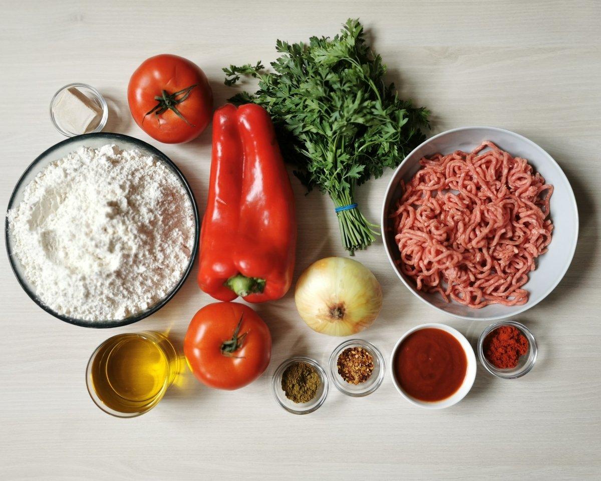 Los ingredientes del Lahmacun