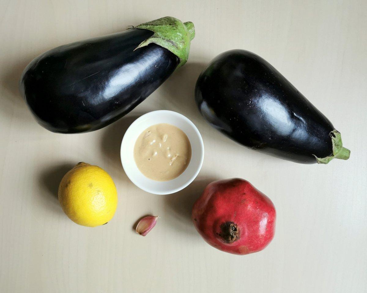 Los ingredientes del Moutabbal