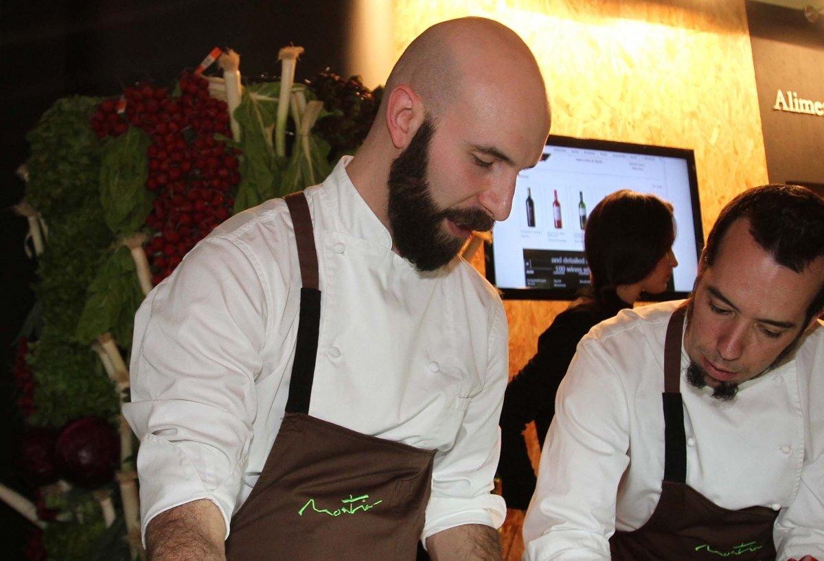 Luis Moreno, sabores rurales de alta cocina