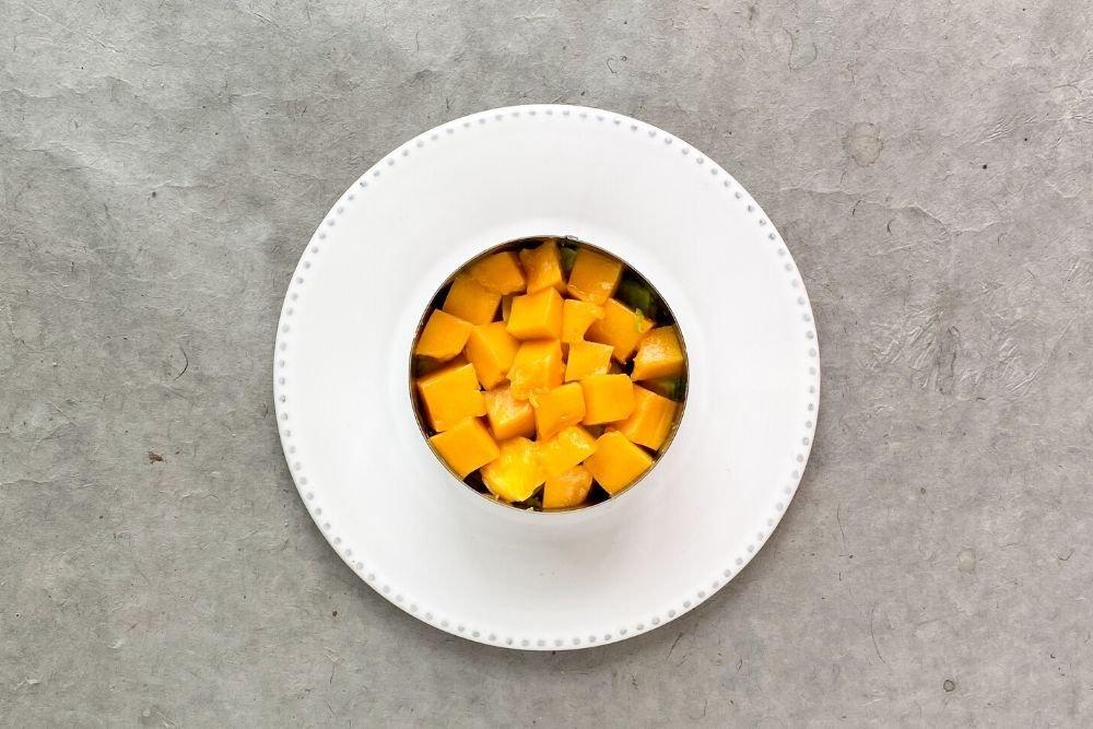 mango para tartar de atun