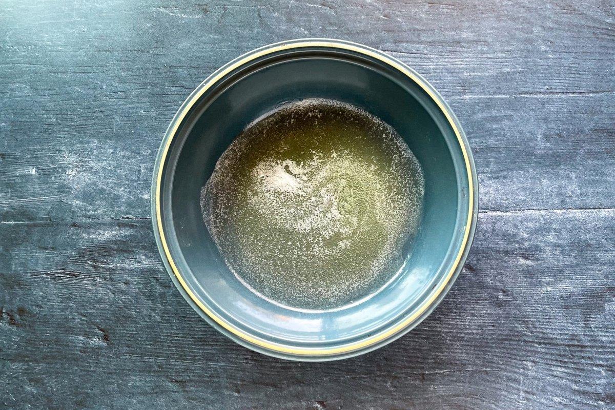Mantequilla fundida para elaborar risotto *