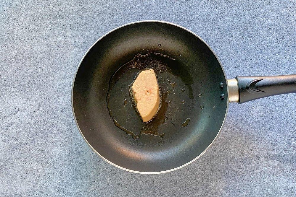 Marcar el foie