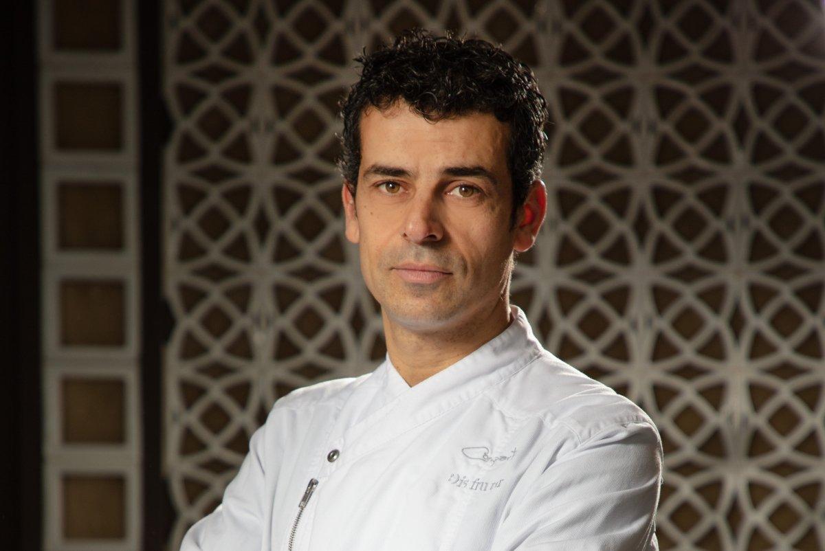 Mateu Casañas, chef del restaurante Disfrutar en Barcelona