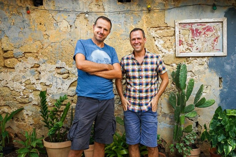 Mike Powell y Jürgen Horn de For 91 Days