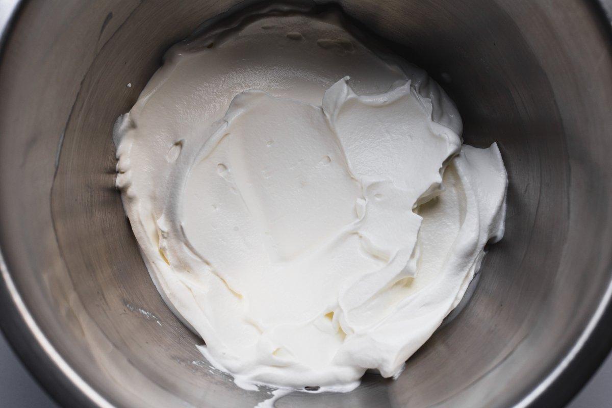 Montar la nata fría