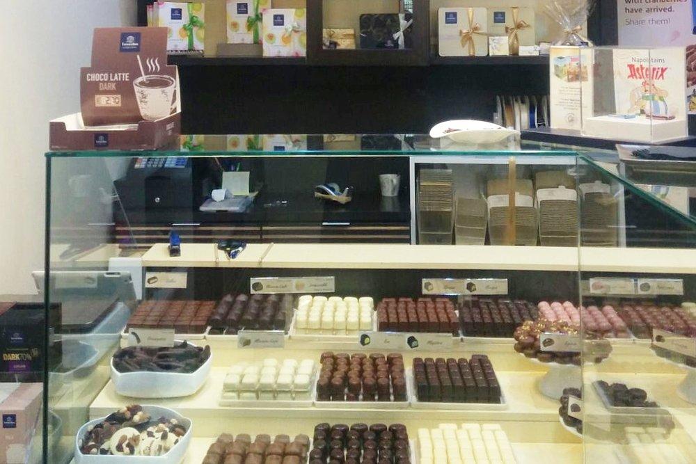 Leonidas, la tienda del chocolate belga en Madrid