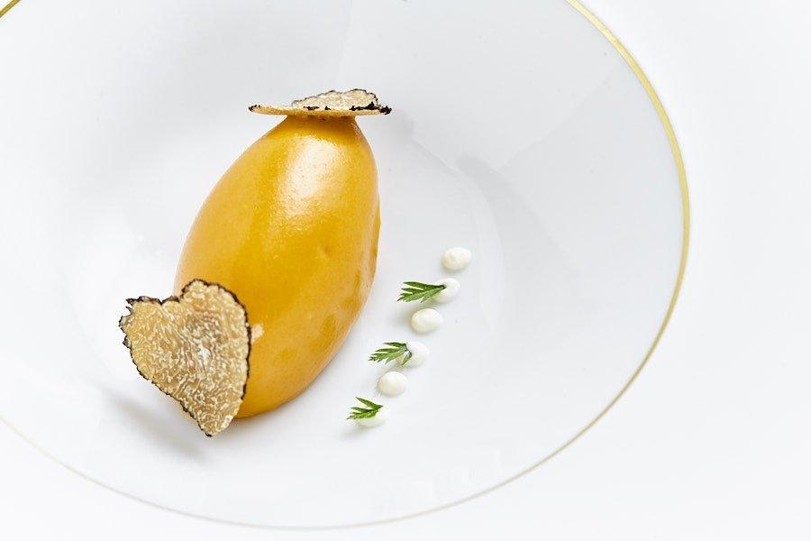 Original preparación del restaurante LÚ