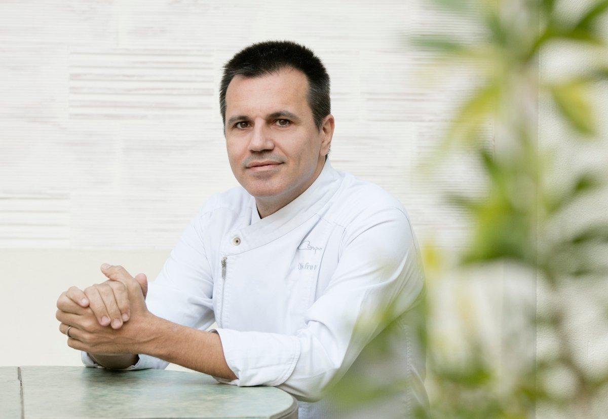 Oriol Castro, chef del restaurante Disfrutar