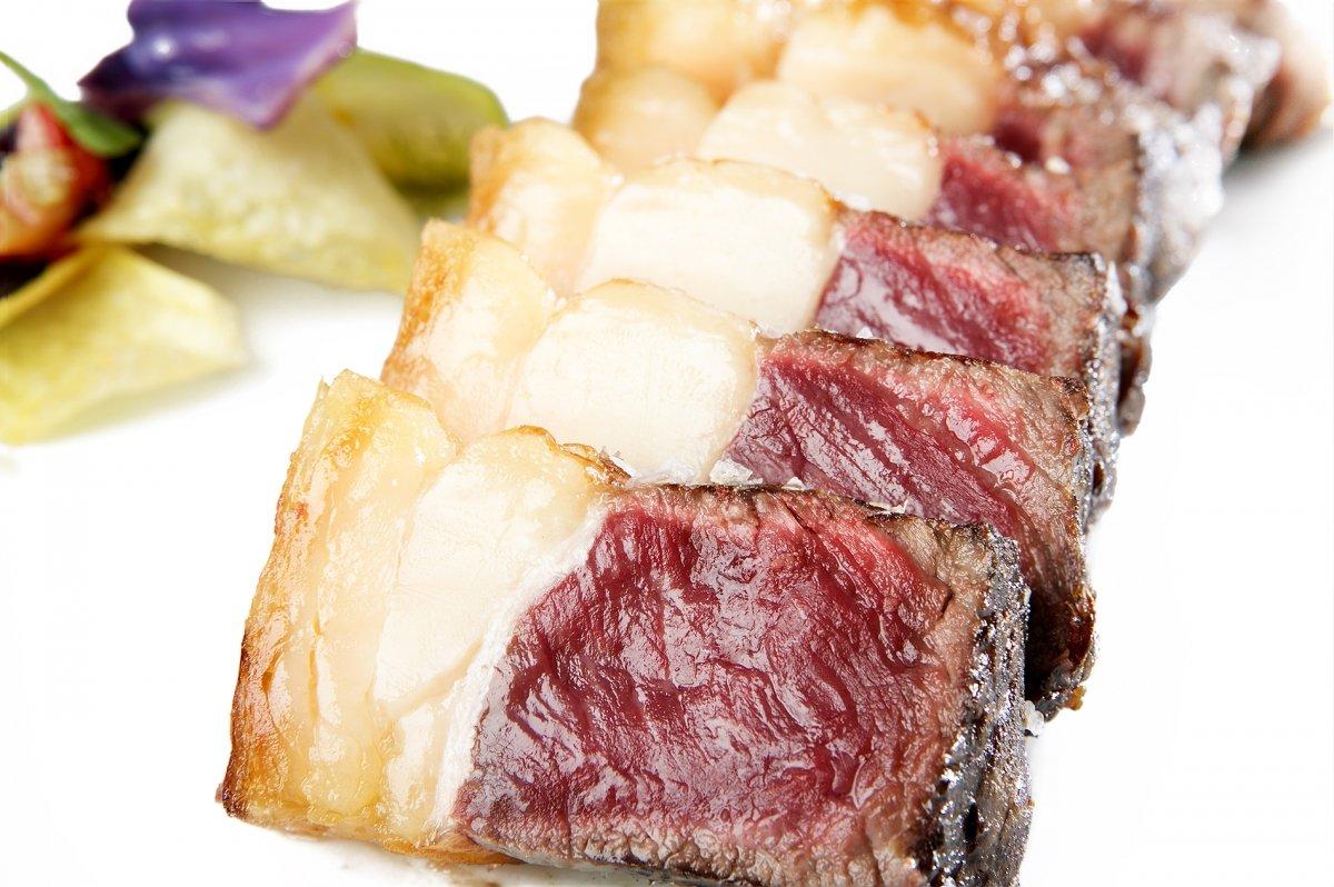 Otro corte de carne excelente del restaurante Castillería